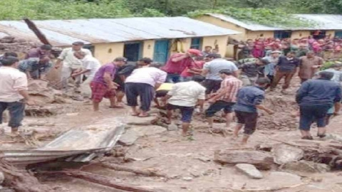 Two killed in cloudburst, two washed away as heavy rain lashes Uttarakhand