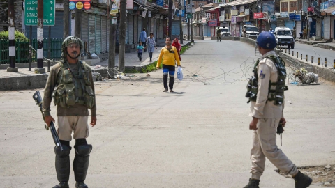 Teachers report to school in Kashmir, students don't