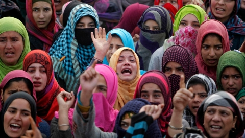 Women's groups raise concerns over rights violations in Kashmir, demand restoration of Article 370