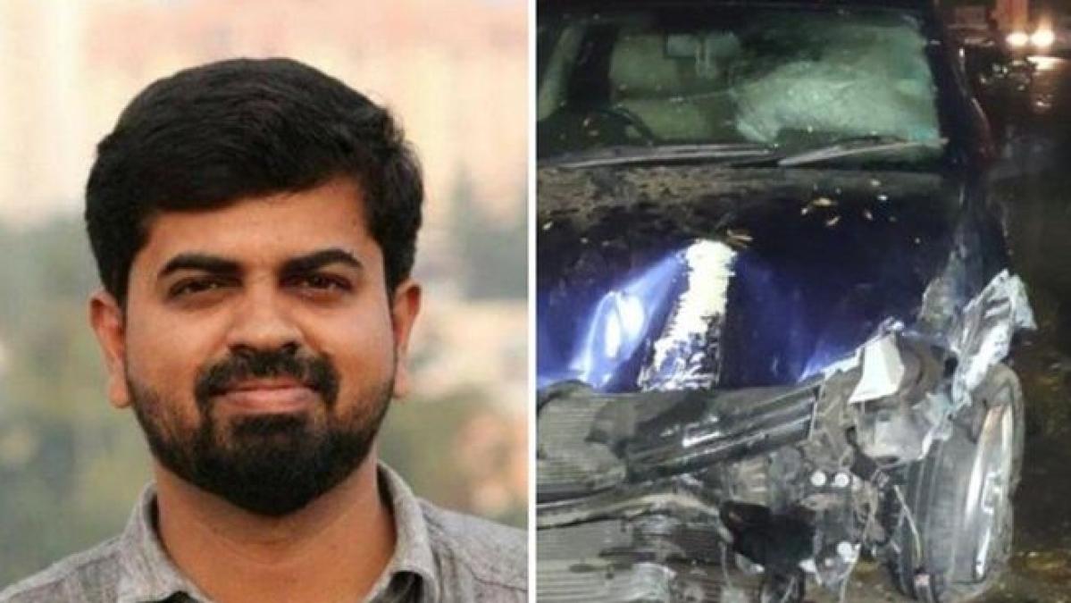 Car driven by IAS officer mows down journalist in Kerala