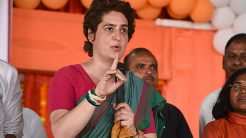 Question of safety is haunting each and every woman & girl of UP, BJP should answer, says Priyanka Gandhi