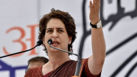 Chidambaram being 'shamefully hunted down' as truth inconvenient to 'cowards', says Priyanka Gandhi
