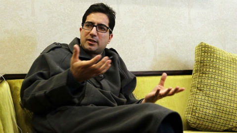 Shah Faesal arrested in Delhi, sent back to Kashmir to be kept under house arrest