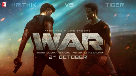 War Trailer gives us a fine face-off situation