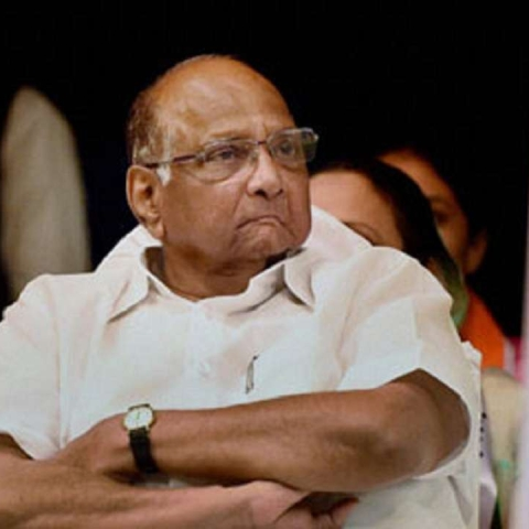 Nationalist Congress Party (NCP) chief Sharad Pawar (PTI photo)