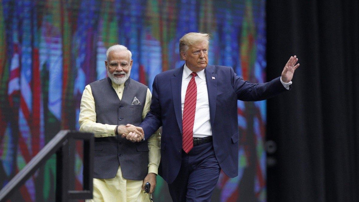 PM Modi and US President Trump
