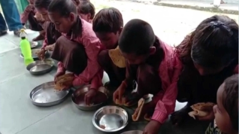 Mirzapur: A week before the roti-salt video, students were given only rice and salt