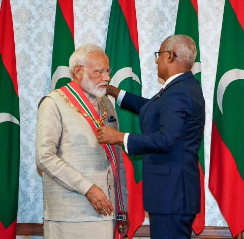 Virtually all Muslim countries have honoured Narendra Modi with their highest civilian awards