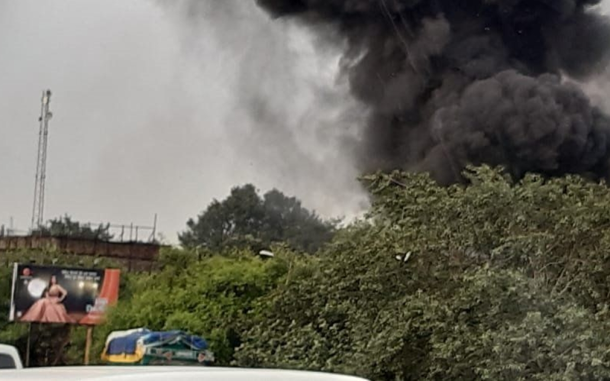 News updates LIVE: Fire has broken out at a godown in