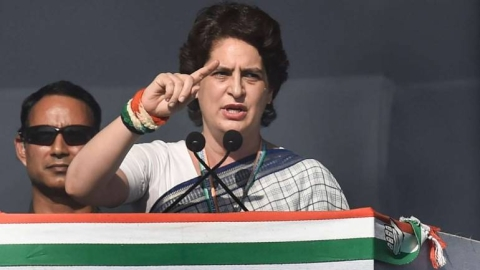 Congress general secretary Priyanka Gandhi (file photo).