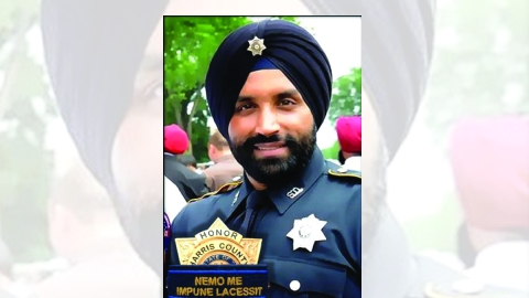 Houston pays homage to slain Sikh police officer in same stadium which hosted 'Howdy Modi' event