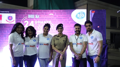 Big FM RJs host a 24-hour live show as part of 'Dilli ke Dhaakad' campaign