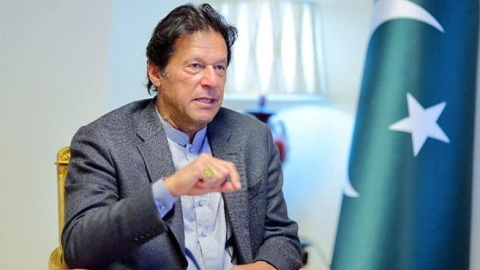 "Kashmir is Pakistan's ""jugular vein"", says PM Imran Khan"