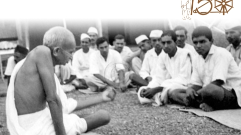 Gandhi denounced caste and untouchability