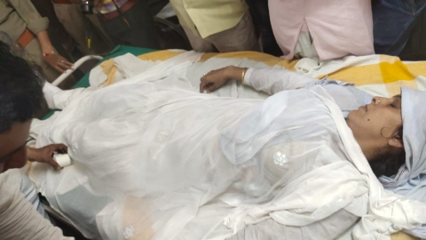 Woman BJP leader attempts self-immolation, accuses party MLA of harassment