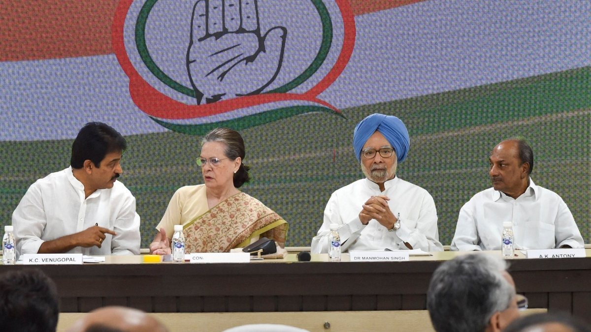 Sonia Gandhi takes stock of implementation of poll promises in Congress-ruled states