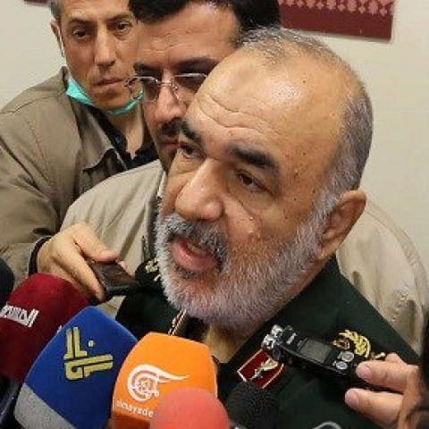Maj Gen Hossein Salami (Photo courtesy: Social media)