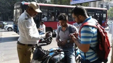 Delhi man fined whopping ₹23k for violating traffic rules