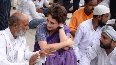 BJP govt in UP has no control over crime: Priyanka