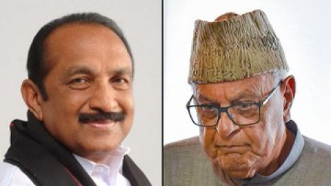 MDMK's Vaiko seeks direction from SC to grant  Farooq Abdullah liberty to attend conference