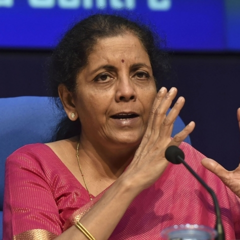 Finance Minister Nirmala Sitharaman (file photo, Photo courtesy: social media)
