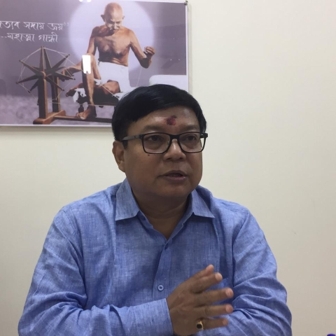 Leader of Opposition in Assam Legislative Assembly Debabrata Saikia (NH photo).