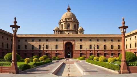 Two Americans held for flying drone over Rashtrapati Bhavan