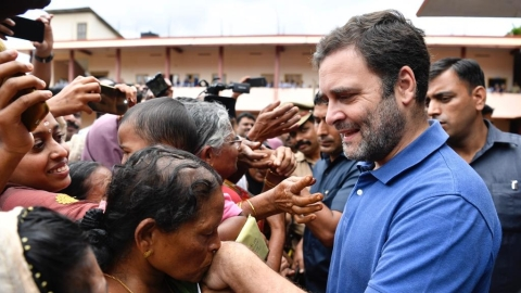 Rahul writes to Kerala CM over Wayanad issues