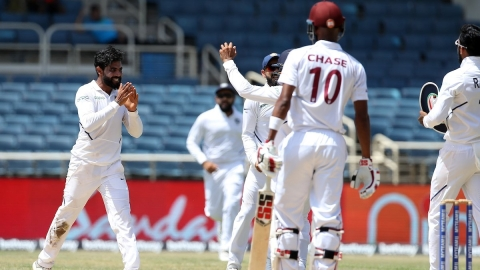2nd test: India thrash West Indies by 257 runs, win series 2-0