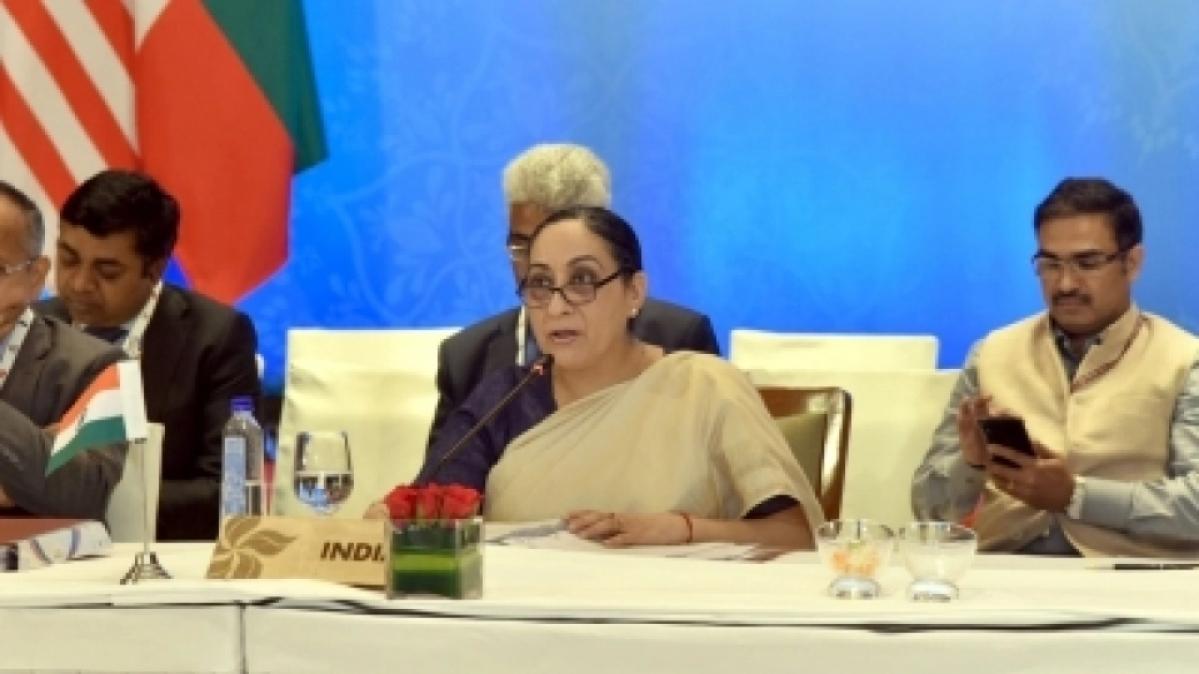 Secretary (East) in External Affairs Ministry Vijay Thakur Singh (file photo, IANS)
