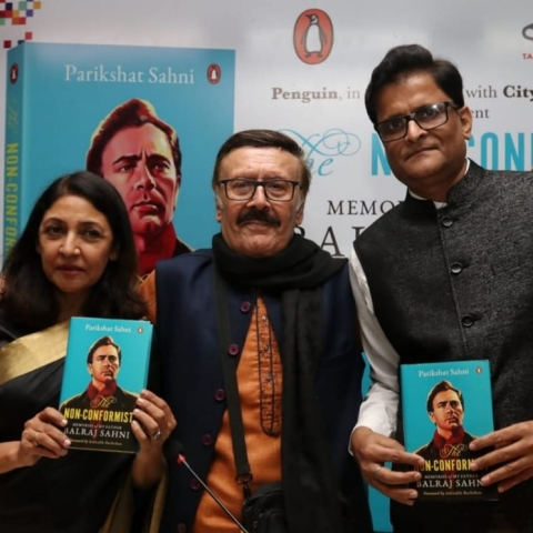 Parikshat Sahni's biography of his legendary actor father Balraj Sahni launched in Delhi