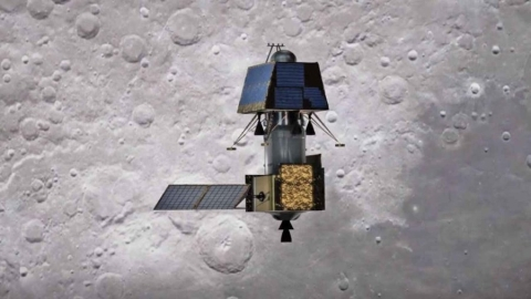 Vikram Found: ISRO takes photo of moon lander on lunar surface