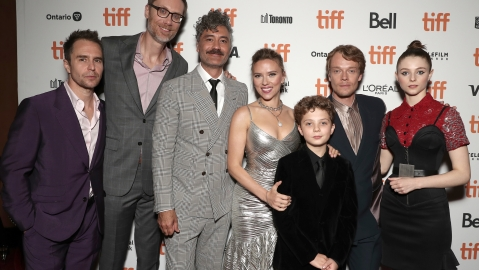Premiere of JOJO Rabbit at the Toronto International Film Festival