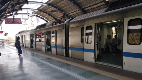 Woman jumps in front of Delhi Metro train, dies