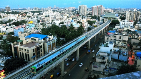 Bengaluru Metro (IANS Photo)