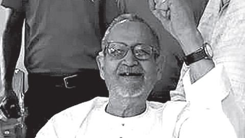 AK Roy played an important role in the Jharkhand movement (Photo courtesy: social media)