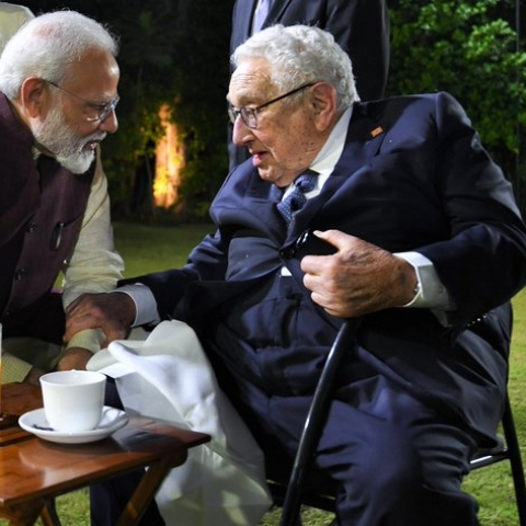 Does the PM  remember 'K'  calling Indians 'ba***ds', people ask after Modi meets Kissinger