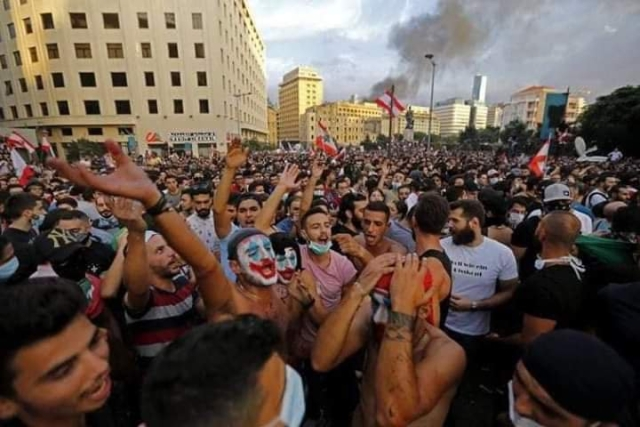Joker is becoming the face of the fight against injustice in Lebanon, Chile