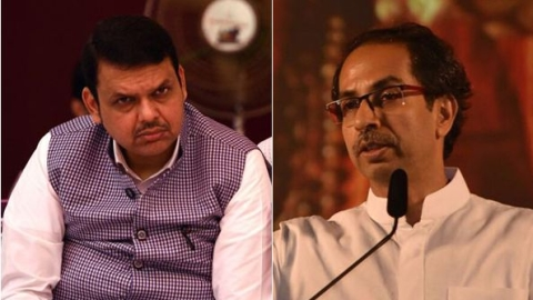 Maharashtra political course depends on 'outgoing' CM's steps: Shiv Sena