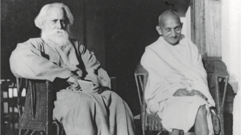 Gandhi and Tagore went beyond Vivekananda's binary between the East and the West