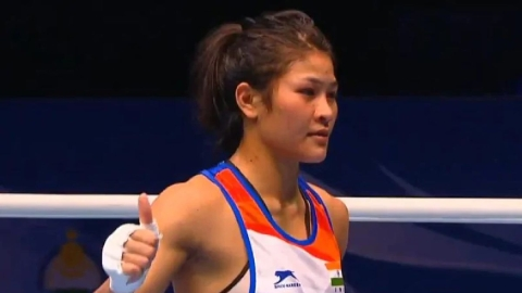 Jamua Boro, Lovlina Borgohain enter quarters of world women's boxing championship