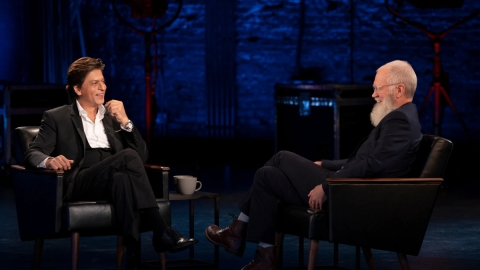 Shah Rukh Khan's episode with David Letterman on October 25