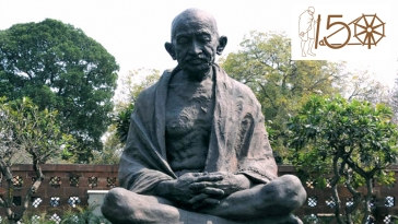 Gandhi and Buddha: Godly and the Ungodly