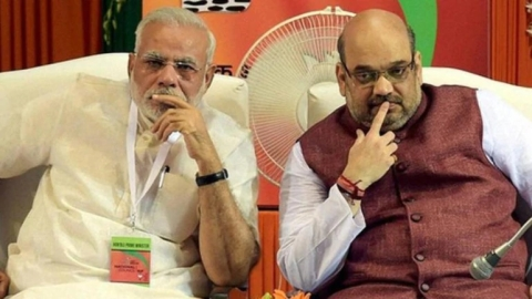 PM Narendra Modi and his lieutenant Amit Shah.