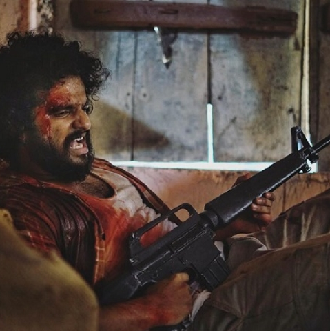 Neerav Madhav playing  the role of a Muslim terrorist