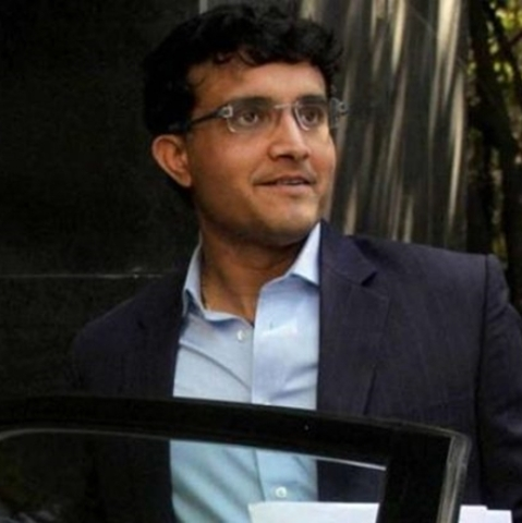 Former Indian cricket skipper Sourav Ganguly