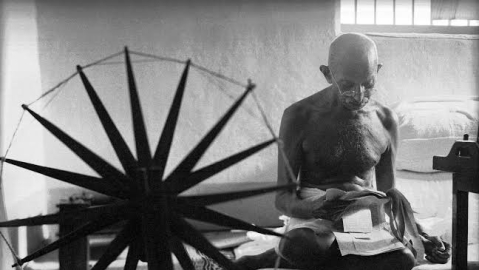 Gandhi in the songs, folklore of Orissa