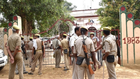 Security heightened in Ayodhya