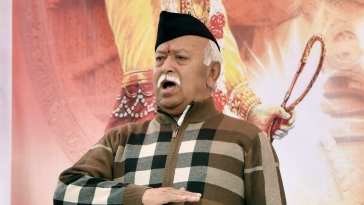 RSS Sarsanghchalak Mohan Bhagwat (file photo)