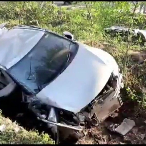 4 national level hockey players dead, three injured, in a car accident in Hoshangabad, MP